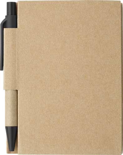 Carnets multifonction - Carnet personnalisé cartonné avec stylo - Cartopad - Pandacola