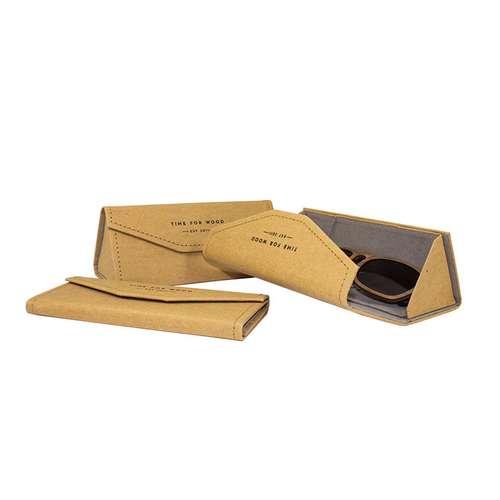 Etuis à lunettes - Etui à lunettes pliable | Time For Wood - Pandacola