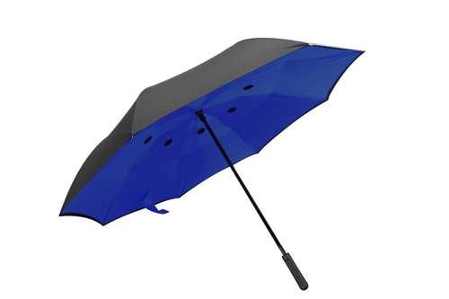 Parapluies réversible - Parapluie réversible publicitaire manche droit - Reverse | Raintop - Pandacola