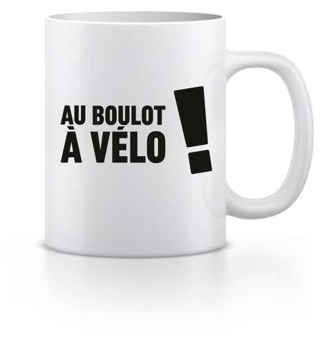 Mugs - Mug - Au boulot à Vélo ! - Pandacola