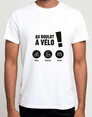 Tee-shirts - Tee-shirts - Au boulot à Vélo ! - Pandacola