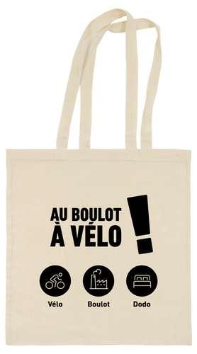 Sacs shopping - Tote bag - Au boulot à Vélo ! - Pandacola