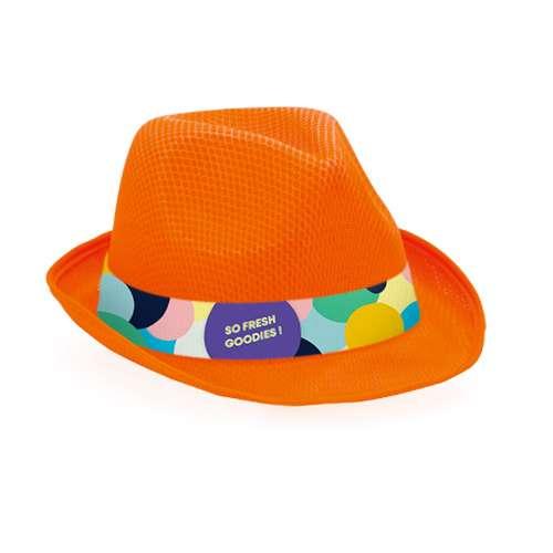 Chapeaux - Chapeau publicitaire de couleur en polyester avec bandeau sublimation - Braz - Pandacola