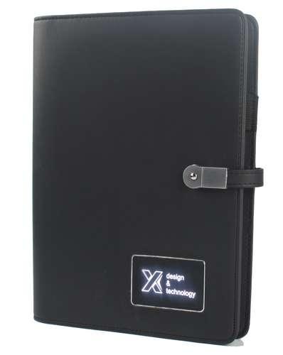 Carnets multifonction - Carnet avec batterie de secours 3000 mAh - Powerbook   SCX Design - Pandacola