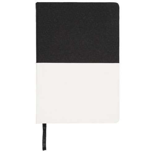 Carnets simple - Carnet publicitaire A5 en toile à deux tons 80 pages 70 gr/m² - Boaz - Pandacola