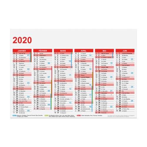 Calendrier Bancaire Personnalise.Calendrier De Banque Personnalise 2020 Recto Verso Rigide A5