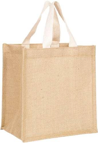 Sacs shopping - Petit sac personnalisé en jute - Cuba - Pandacola