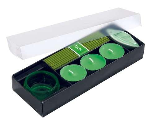 Bougies parfumées - Set de bougies parfumées personnalisable - Atmosphere - Pandacola