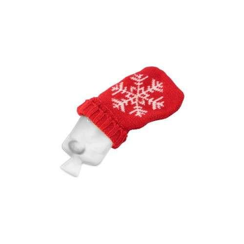 Bouillottes - Chaufferette publicitaire portable de noël et chaussette en tricot - Suly - Pandacola