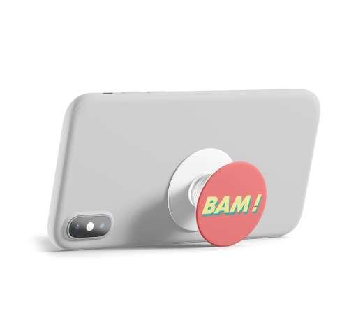 Supports smartphones/tablettes tactiles - Support publicitaire pour téléphone Popsockets - Popgrip - Pandacola