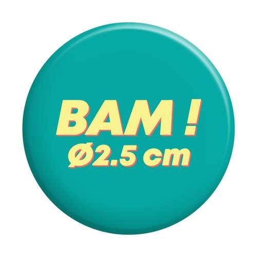 Badges - Badge personnalisé rond Ø2,5 cm - Paty - Pandacola