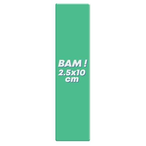 Magnets/Aimants - Magnet publicitaire flexible marque-page 2,5x10 cm - Pafmax - Pandacola