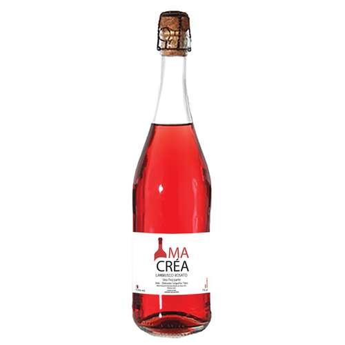 Bouteilles de vin - Bouteille promotionnelle de vin rosé pétillant italien - Lambrusco - Pandacola