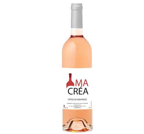 Bouteilles de vin - Bouteille de vin rosé - Côtes de Provence 2017 (Cuvée Vaussiere) - Pandacola