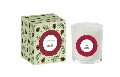 Bougies parfumées - Bougie de Noël à offrir - Woodland - Pandacola