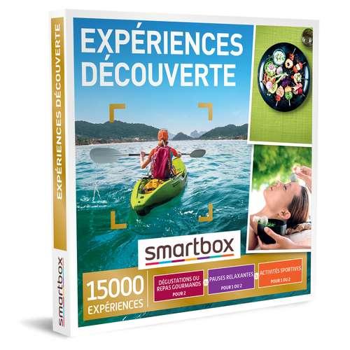 Coffrets et box cadeaux - Coffret cadeau Multi Thématiques Expériences - Découverte |Smartbox - Pandacola