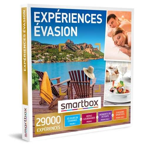 Coffrets et box cadeaux - Coffret cadeau Multi Thématiques Expériences - Évasion |Smartbox - Pandacola