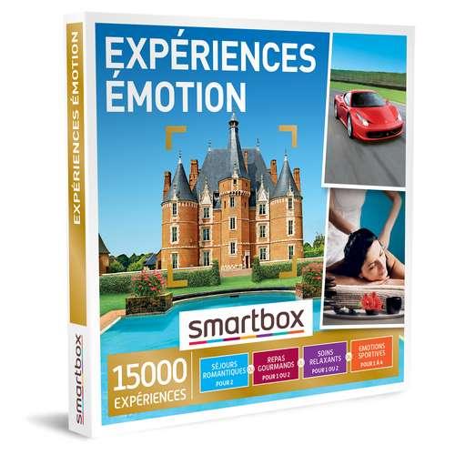 Coffrets et box cadeaux - Coffret cadeau Multi Thématiques Expériences - Émotion |Smartbox - Pandacola