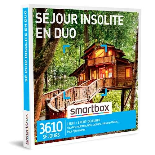 Coffrets et box cadeaux - Coffret cadeau Séjour - Séjour insolite en duo |Smartbox - Pandacola