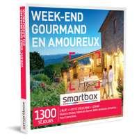 Coffret cadeau Séjour gastronomique - Week-end gourmand en amoureux |Smartbox - Pandacola