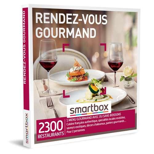 Coffrets et box cadeaux - Coffret cadeau Gastronomie - Rendez-vous gourmand |Smartbox - Pandacola