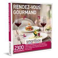 Coffret cadeau Gastronomie - Rendez-vous gourmand |Smartbox - Pandacola