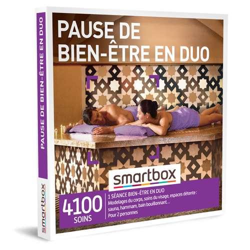 Coffrets et box cadeaux - Coffret cadeau Bien être-Pause de bien-être en duo  Smartbox - Pandacola