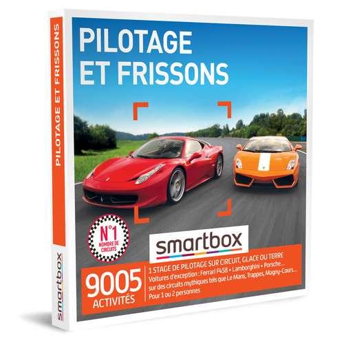 Coffrets et box cadeaux - Coffret cadeau Aventure- Pilotage et frissons |Smartbox - Pandacola