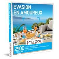 Coffret cadeau Séjour - Évasion en amoureux |Smartbox - Pandacola