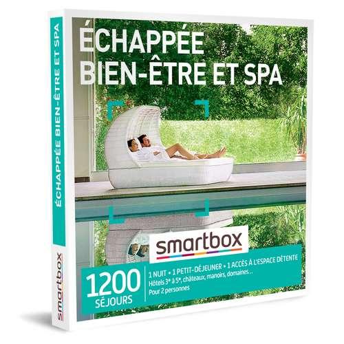 Coffrets et box cadeaux - Coffret cadeau Séjour bien être - Échappée bien-être et spa |Smartbox - Pandacola