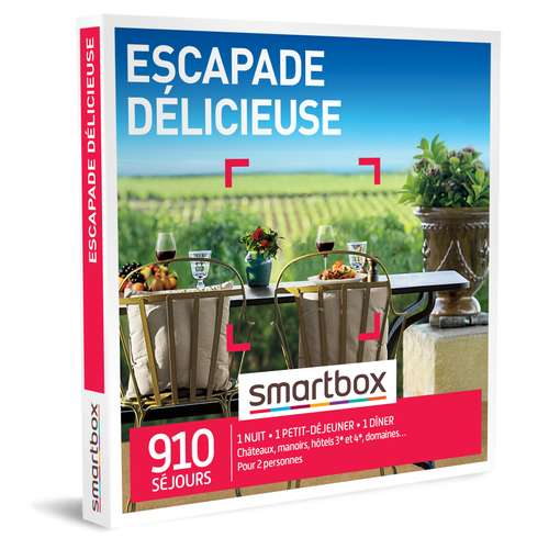 Coffrets et box cadeaux - Coffret cadeau Séjour gastronomique - Escapade délicieuse |Smartbox - Pandacola