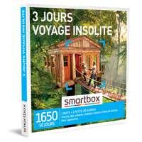 Coffret cadeau Séjour - 3 jours voyage insolite |Smartbox - Pandacola