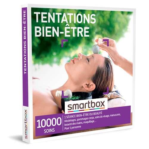 Coffrets et box cadeaux - Coffret cadeau Bien être - Tentation bien-être |Smartbox - Pandacola