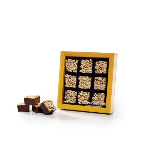 Boîtes de chocolat - Coffret de rochers au chocolat bio 90g - Pandacola