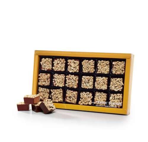 Boîtes de chocolat - Coffret de rochers au chocolat bio 180g - Pandacola