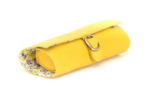 Pochettes/trousses à bijoux - Trousse à bijoux en cuir élégante et pratique - Emma - Pandacola