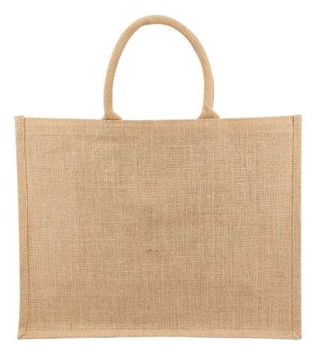 Sacs shopping - Cabas en jute publicitaire 43x34x20 cm 240 gr/m² - Temuco - Pandacola