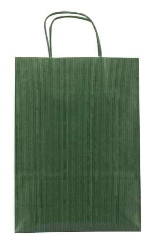 Sacs shopping - Sac papier kraft personnalisé couleur 22x31x10 cm 90 gr/m² - Penaflor - Pandacola