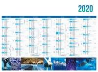 Calendrier bancaire personnalisable thématique - AGC55 Industrie - Pandacola