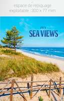 Calendrier feuillet personnalisé - AGF Sea Views - Pandacola