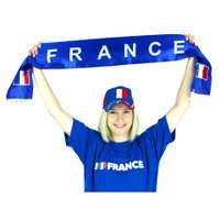 Echarpe Supporter France - Lebu - Pandacola