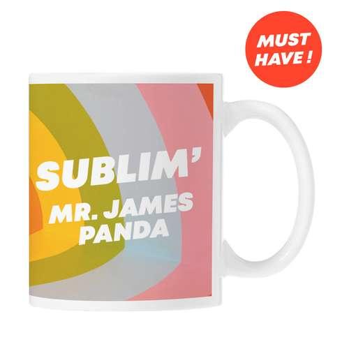 Mugs - Mug céramique marquage sublimation et nominatif 320 ml - Newark Name - Pandacola
