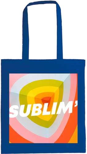 Sacs shopping - Tote bag publicitaire de couleurs en marquage quadrichromie - Hawai - Pandacola
