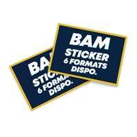 Sticker publicitaire rectangulaire - Tirmi - Pandacola
