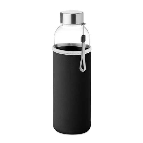 Bouteilles - Bouteille personnalisée en verre avec pochette néoprène 500 ml - Utah Glass - Pandacola