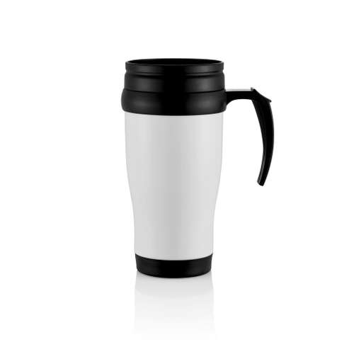 Mugs - Mug isotherme personnalisé en métal 400 ml - Flen - Pandacola