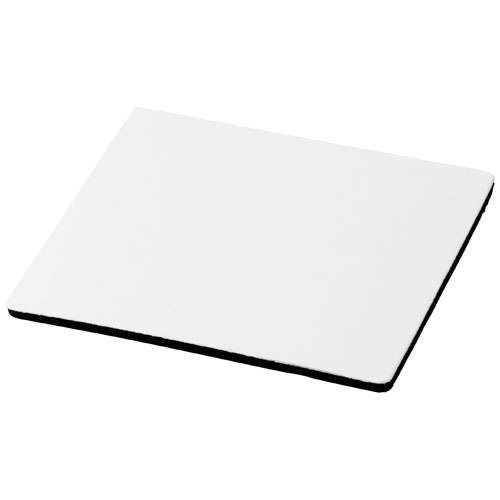 Sous-bocks/Sous-verres - Sous-verre carré publicitaire base en mousse noir - Benton | Q-Mat® - Pandacola