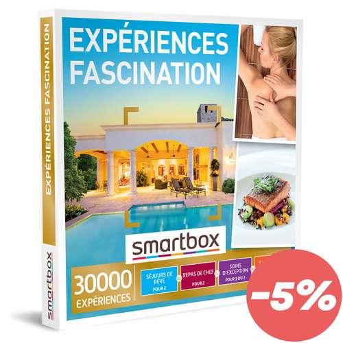 Coffrets et box cadeaux - Coffret cadeau Multi Thématiques Expériences - Fascination |Smartbox - Pandacola
