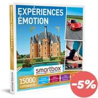 Coffret cadeau Multi Thématiques Expériences - Émotion |Smartbox - Pandacola