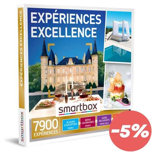 Coffrets et box cadeaux - Coffret cadeau Multi Thématiques Expériences - Excellence |Smartbox - Pandacola